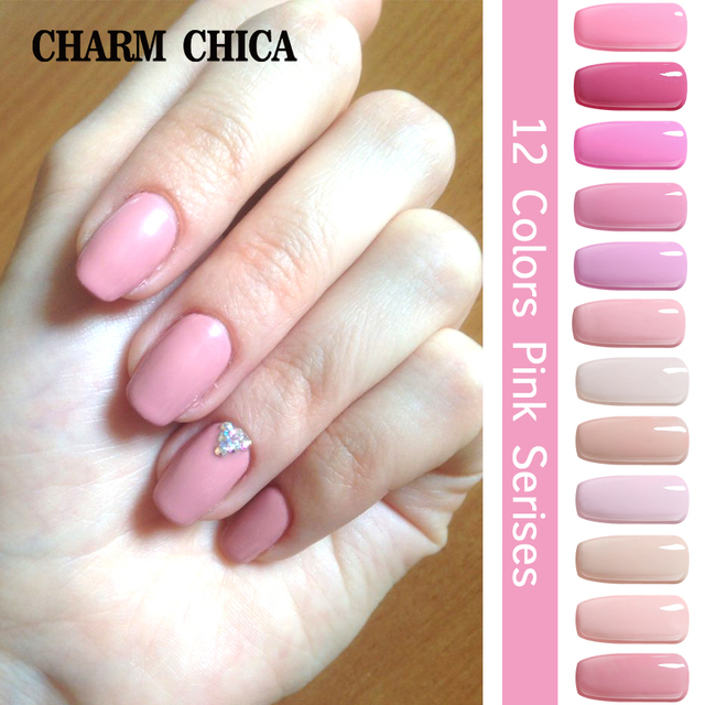 CHARM CHICA UV Nail Gel Lacquer Nail Polish Professional Romantic ...
