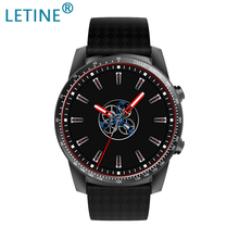 Letine KW99 3G Smartwatch Phone Android 5.1 MTK6580 Quad Core 8GB ROM Heart Rate Monitor Pedometer GPS Anti-lost Smart Watch цена