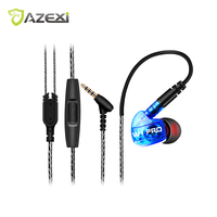 Azexi Sports Earphone 2 Pieces Up To 35 Off Monitor Headphone W1Pro Professional Detachable Cable Sport