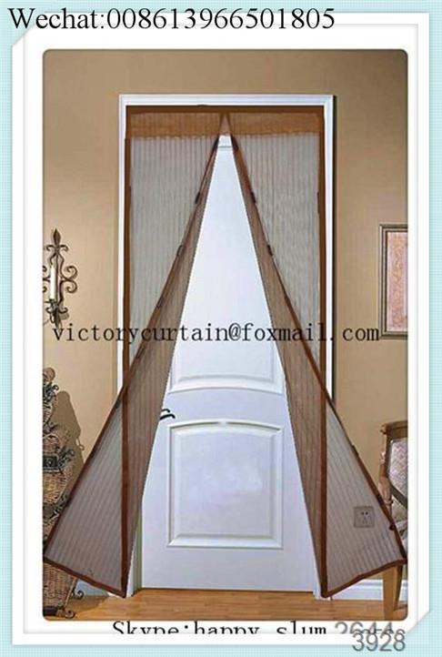 2016 New Magnetic Magic Mesh Screen Door Magnetic Fly Door Mesh Curtain . & Insect Door Nets u0026 Hot Sale Summer 1pc Mosquito Net Curtain ... pezcame.com