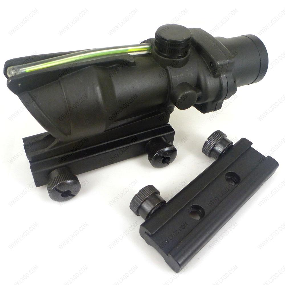 PHANTOM Durable Replica Acog 4x32 Optical Green Fiber Rifle Scope For Hunting литой диск replica fr lx 98 8 5x20 5x150 d110 2 et54 gmf