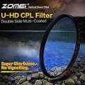 Zomei 52 мм HD CPL Поляризатор Фильтр Slim Pro HD 18 Слой MC Круговой Поляризационный Фильтр для Canon Nikon Sony Pentax Leica Объектив