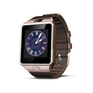 Image 5 - Écran tactile montre intelligente dz09 avec caméra Bluetooth montre bracelet carte SIM montre intelligente pour Ios Android téléphones prennent en charge Multi langua