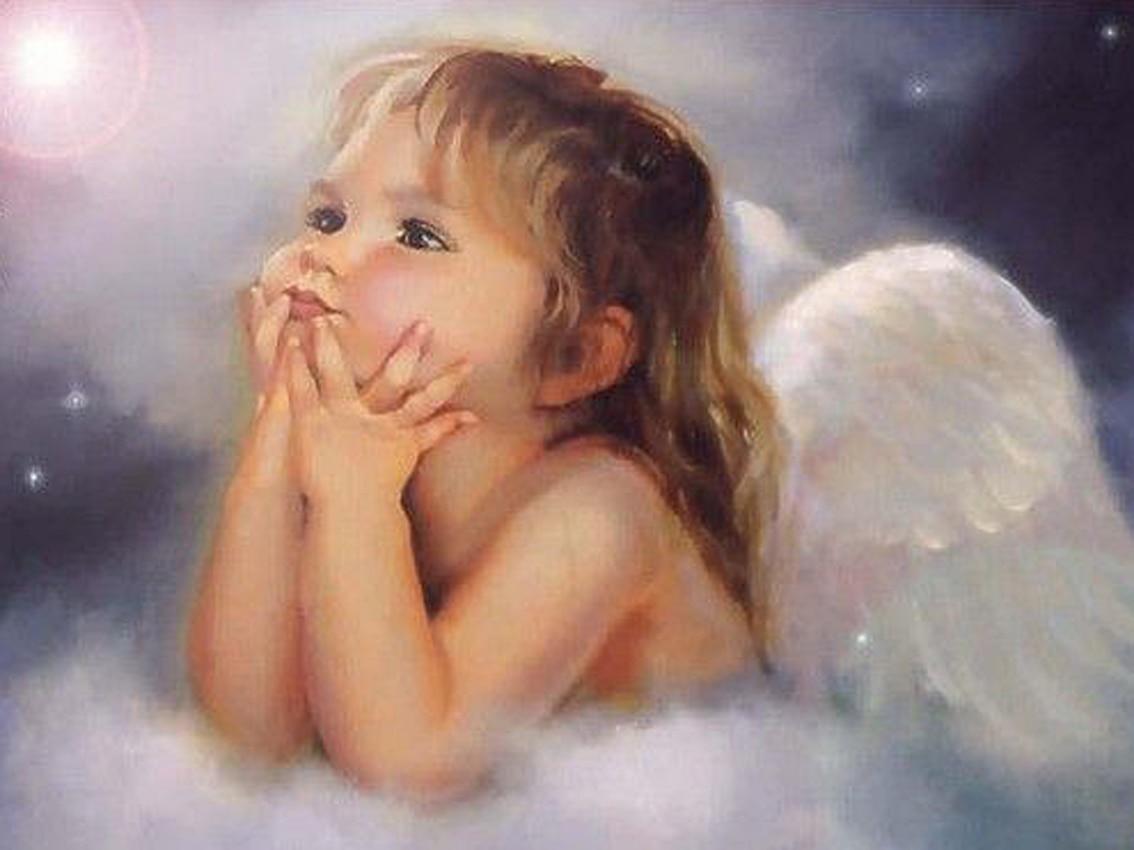 картинки с милыми ангелами снимке
