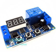12V LED House Automation Delay Timer Management Swap Relay Module Digital