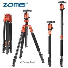 Zomei M7 Camera Aluminium Tripod 160cm Professional Monopod with Ball Head Quick Release Plate Travel Tripode for Canon Nikon