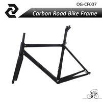 OG EVKIN Chinese New Brand Road Bike Frame Carbon Fiber Bicycle Parts BB386 3K Glossy Matt