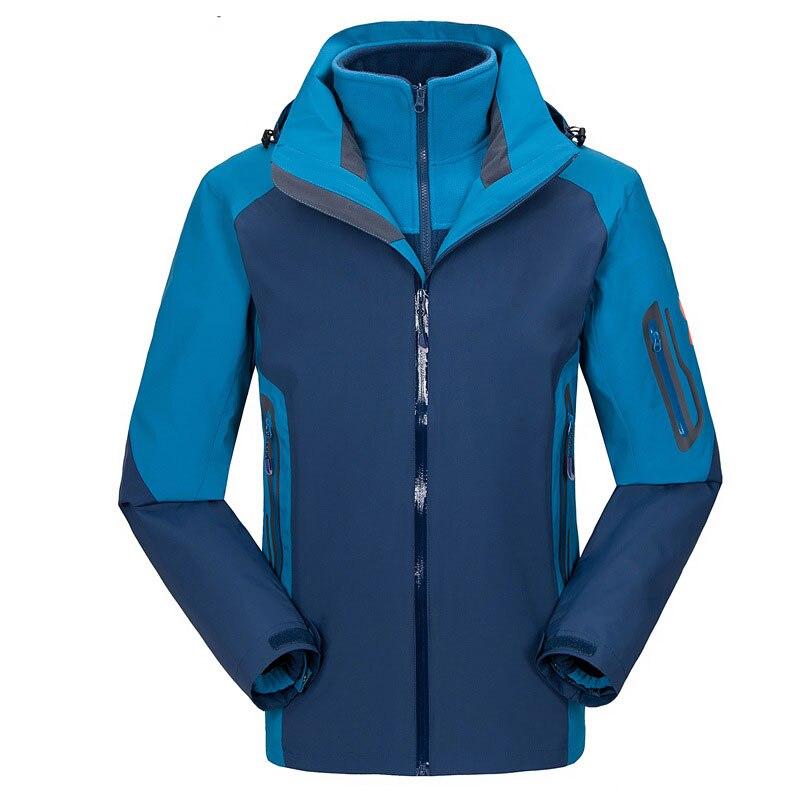 De calidad superior del invierno de la chaqueta para hombre senderismo, Windstop