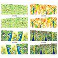 1 unids encantos flor de diseño de uñas etiquetas engomadas del arte DIY completa Wraps decoración manicura herramientas calcomanías animales JH369