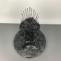 35cm The Iron Throne Desk Game Of Thrones Action Figure Toys Sword Chair Model Toy Song