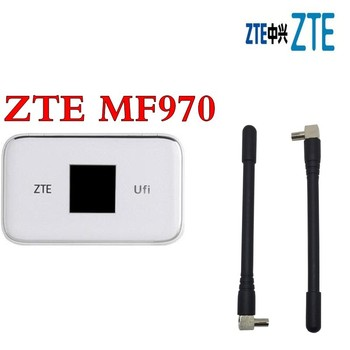 Lot of 5pcs ZTE UFi MF970 LTE Mobile Hotspot plus 2pcs 4g TS9 antenna