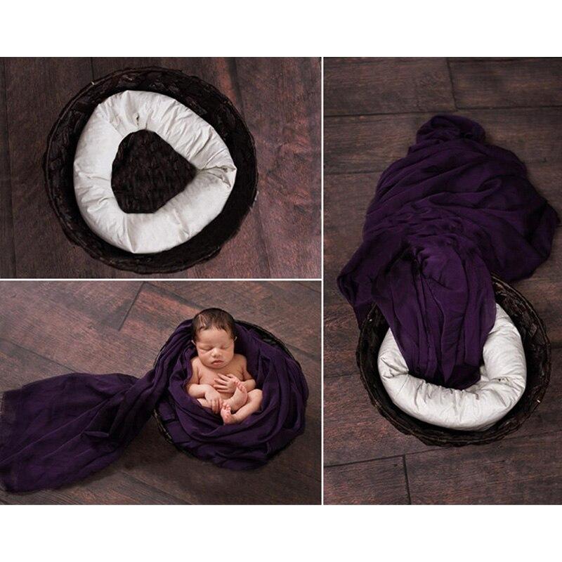 Bébé photo prop nouveau-né photographie 4 pièces posant oreiller nouveau-né prop panier remplissage étouffeur enfant en bas âge studio fotografia accessoires