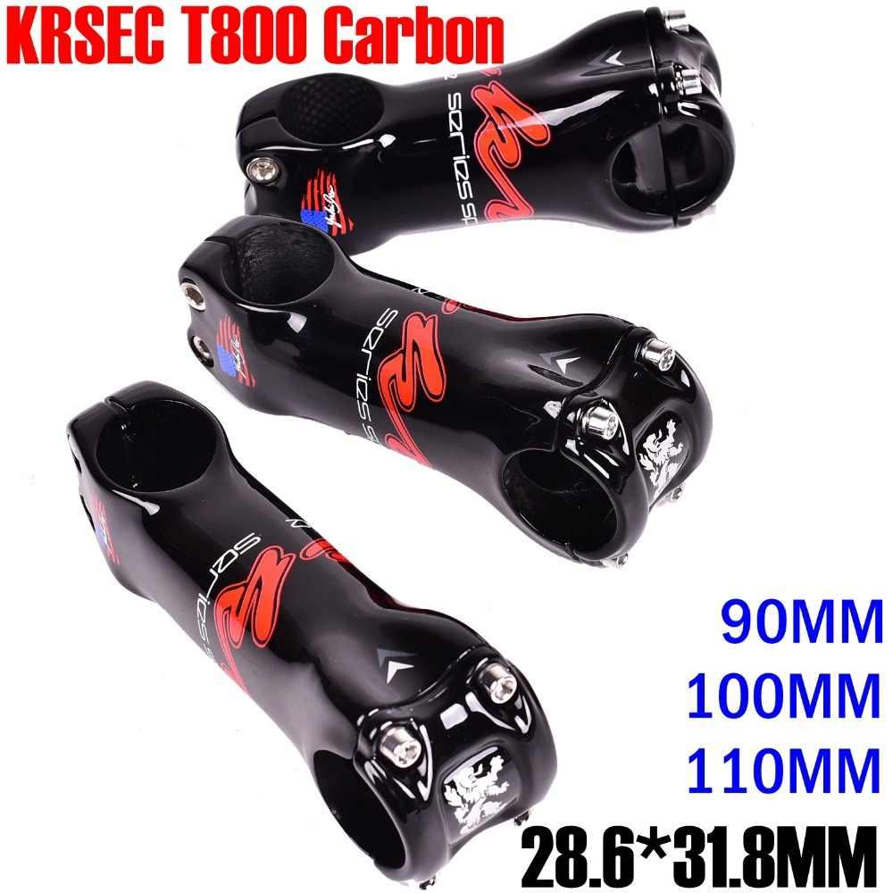 T800 Carbon Bike Stem 6 degree 110mm 3K Matte carbon bicycle stem road mtb stem