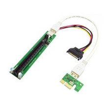 PCI-e express 1x to 16x Extender Riser Card with Power Supply USB Cable 60cm for graphics for bitcoin miner