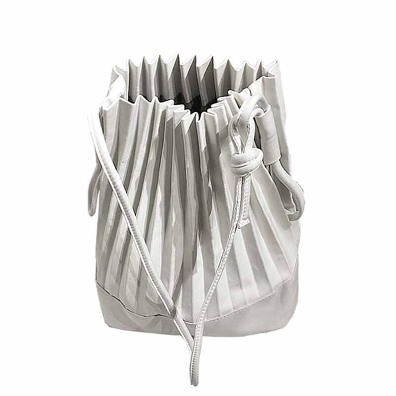 288c32bab42a Купить Холщовая плиссированная Сумка тоут bolsa женские сумки для женщин  2018 сумка через плечо сумка шоппер Продажа Дешево