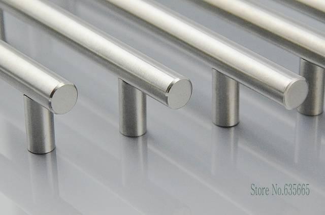 Moderna T Bar In Acciaio Inox Ferramenta per mobili Maniglie Mobili Da  Cucina Porta Tirare Manopole Del Cassetto Armadio armadio Accessori