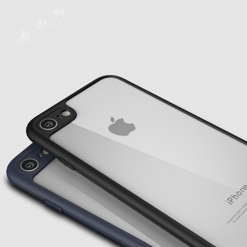 Ultrathin Slim Soft Case For iphone Xs Max XR X 7 6 6S 8 Plus 5 5S SE Transparent PC Back Cover Matte TPU Bumper Frame Cases
