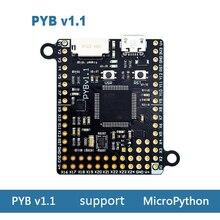 Placa de desarrollo Pyboard v1.1 compatible con MicroPython STM32F405