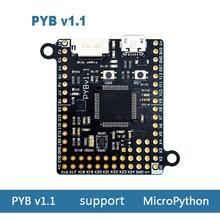 Pyboard v1.1 개발 보드 지원 MicroPython STM32F405