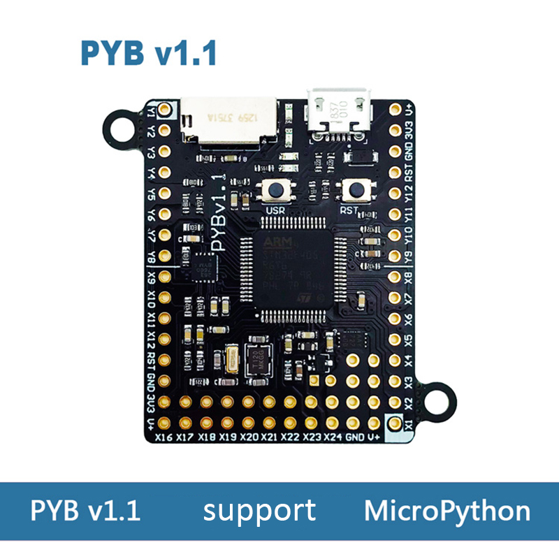 Pyboard v1.1 development board support MicroPython STM32F405-in Replacement Parts & Accessories from Consumer Electronics