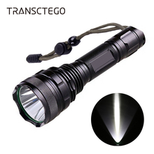 LED Flashlight 18650 T6 Tactical Portable High Power Rechargeable Waterproof 5 Modes Powerful Hunting
