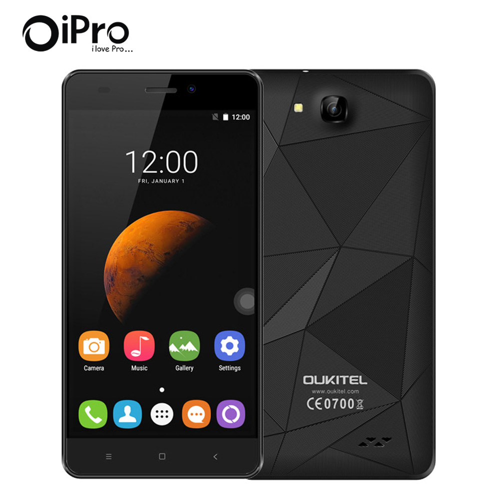 Original Oukitel C3 Smart Phone 5 0 Inch Unlocked 3G WCDMA Cellphones Android 6 0 Quad