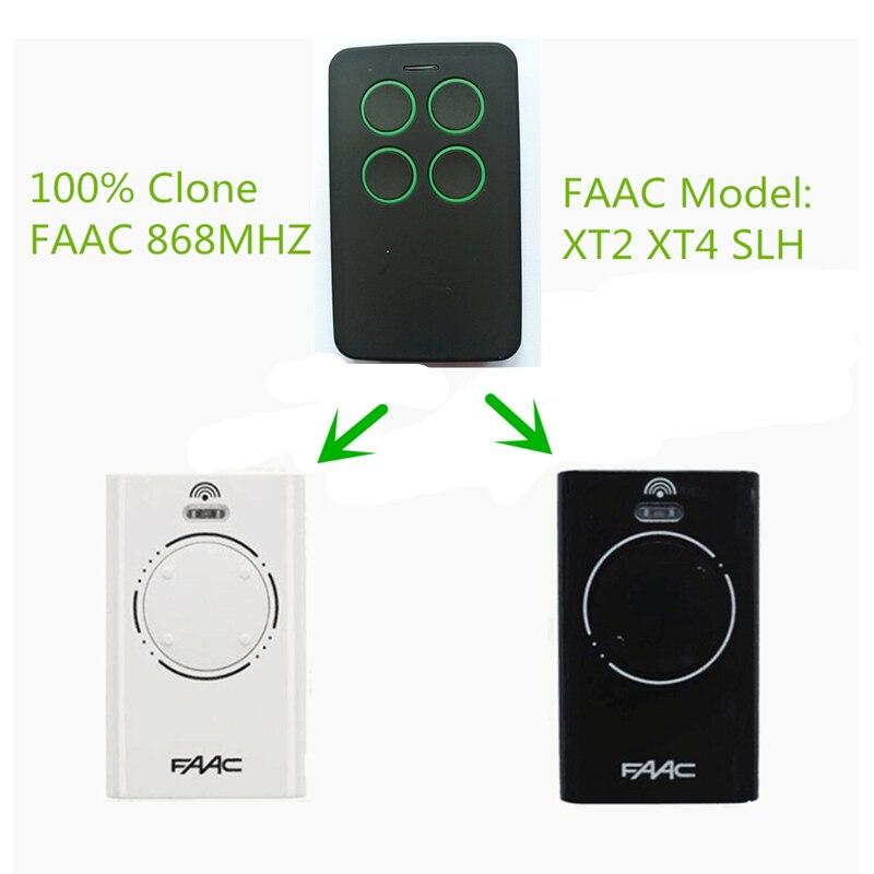 5x Бесплатная доставка брелок Совместимость FAAC дистанционного управления FAAC XT4 433 RC 433 мГц 787452