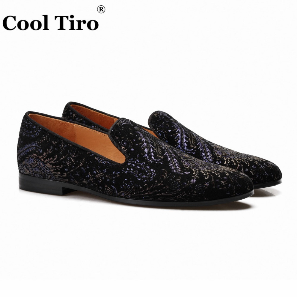 printing Mens Loafers With Tassels Flats (2)