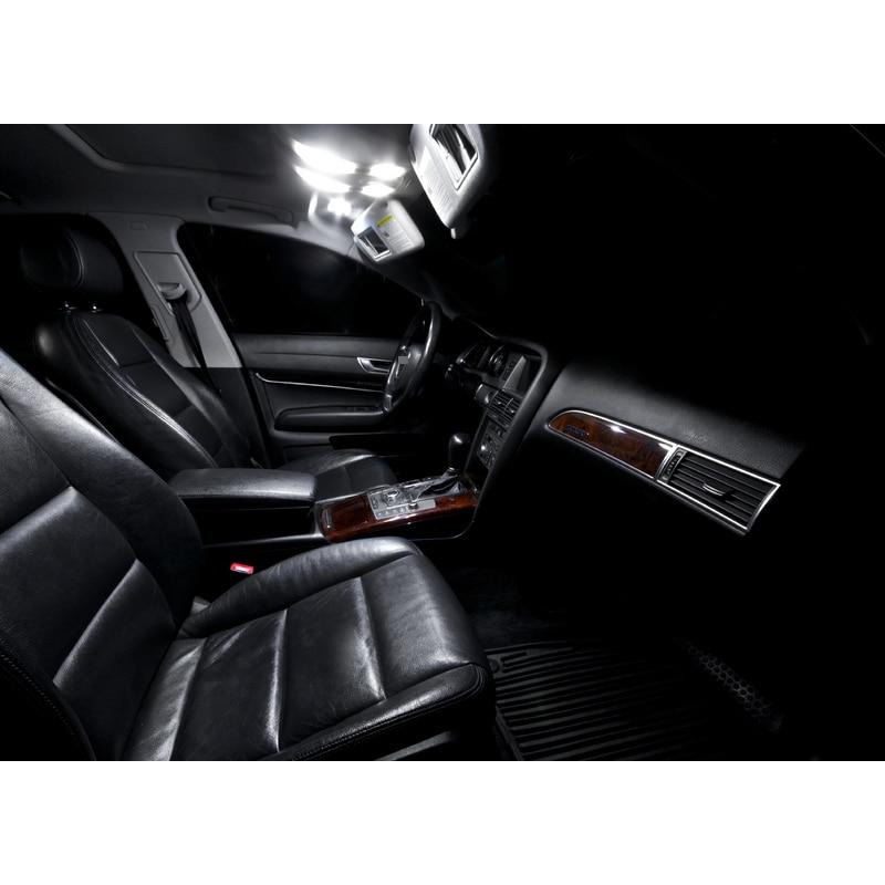 Paket XIEYOU 14pcs LED Canbus Lampu Interior Kit Untuk A6 S6 C6 - Lampu mobil - Foto 3