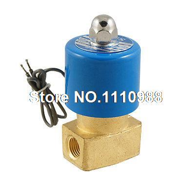 FB2E-V Direct Action Pneumatic Water Gas Air Solenoid Water Valve AC 220V цена