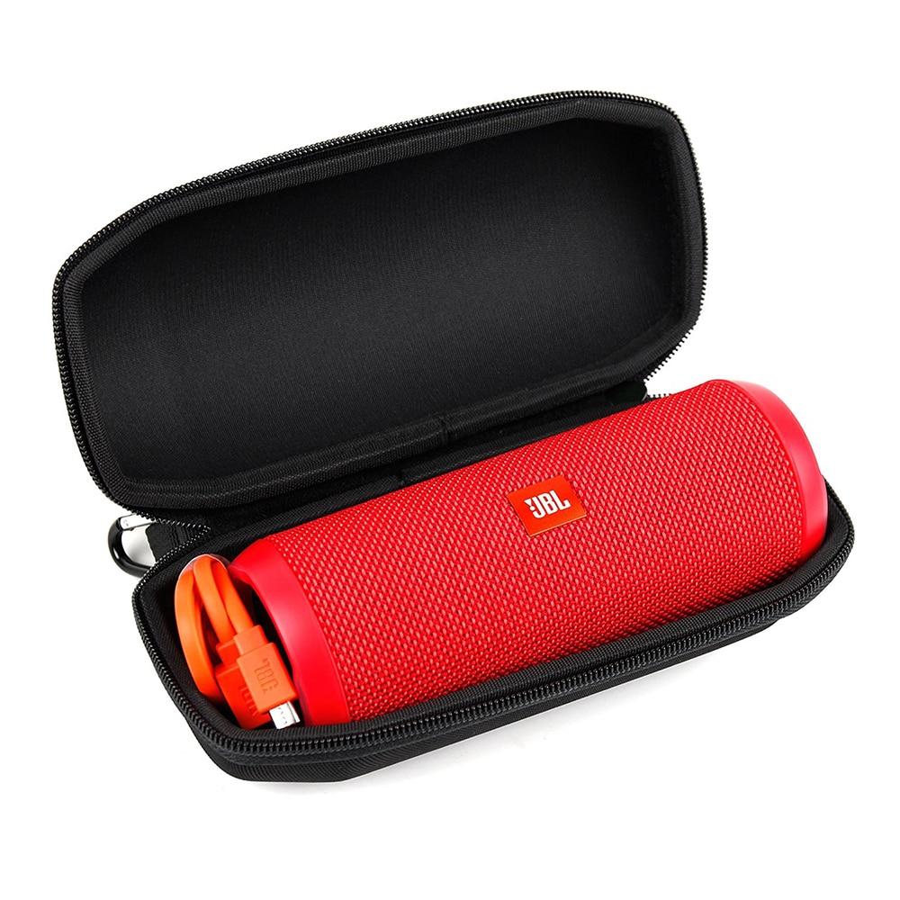 2018 New Portable Travel Case for JBL Flip4 Flip 4 Wireless Bluetooth Speaker Case Protective EVA Cover High-grade Carbon Fiber