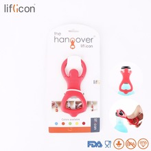 цена на Liflicon Creative Silicone Beer Opener Hang-Over Designed Bottle Opener Multifunctional Gadgets Cool Can Openers 1 piece