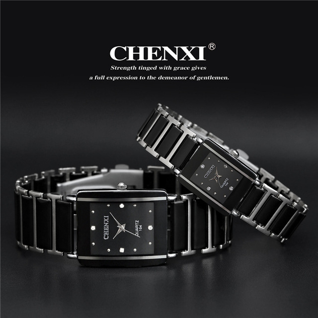 newest hot sales fashion high quality brand chenxi women men couples Leisure wat
