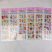 6 Sheets Set Patrulla Canina Puppy Patrol Waterproof 3D Stickers Graffiti Decal Bubble Laptop Doodle Hot Stickers Gifts for Kids(China (Mainland))