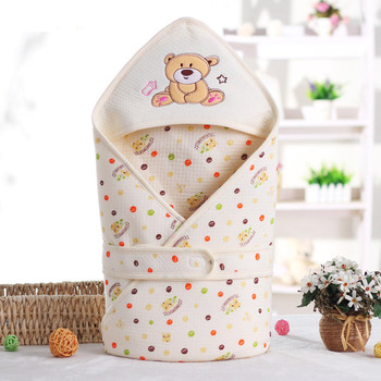 Winter Autumn Cotton Infant Baby Sleeping Bag Envelope For Newborn Baby Bedding Wrap Sleepsack Cartoon Baby Blanket Swaddling 1