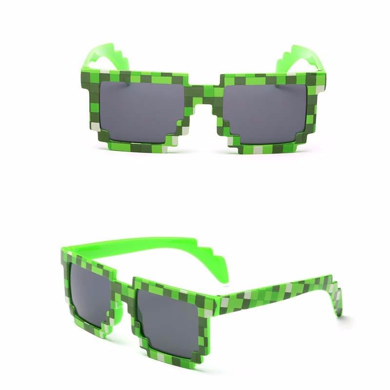 New New Vintage Eyeglasses Mosaic Vintage Eyewear Thug Life Deal With It Sunglasses Women Man Mosaic Glasses 8 Bits Style in Women 39 s Sunglasses from Apparel Accessories