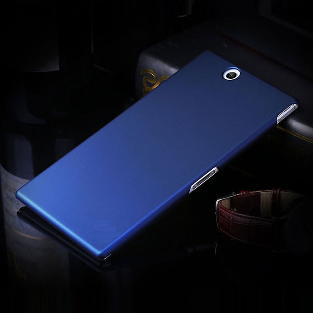 size 40 d0b51 8d1ba US $2.19 |Fashion Frosted Matte Plastic Hard Case sFor sony xperia z ultra  For Sony Xperia Z Ultra XL39h C6802 C6806 Cell Phone Cover Case-in Fitted  ...