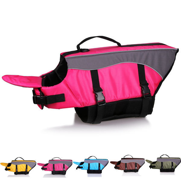 High-Quality-5-Color-Dog-Life-Jacket-Life-Vest-Hydrotherapy-Dogs-Enchantment-pet-resort-Dog-water