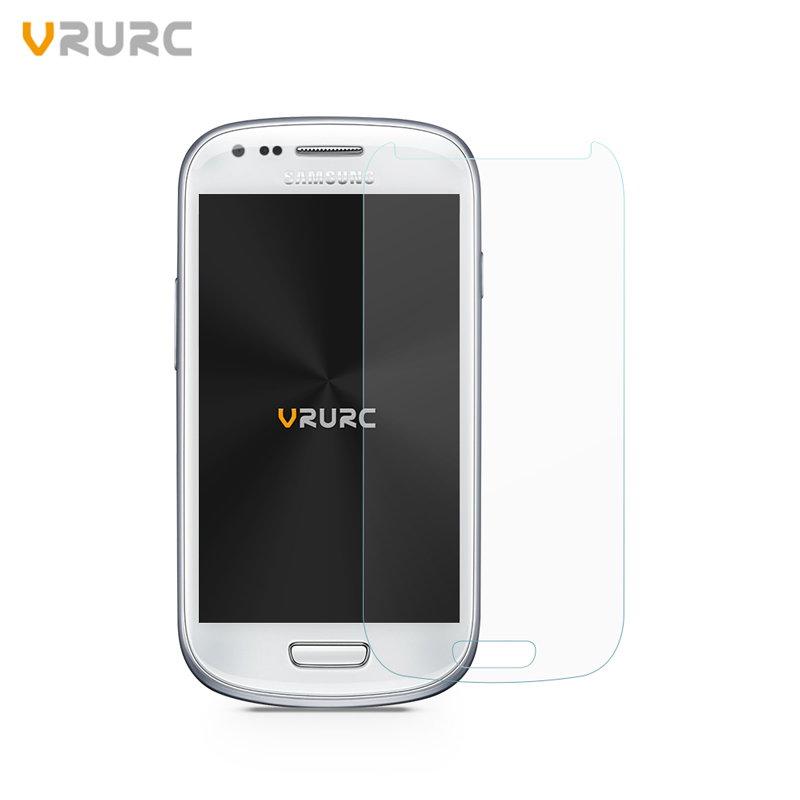 VRURC 9H 2.5D Screen protector for Samsung Galaxy S3 mini i8190 i8190n Tempered Glass protective film with Clean tools