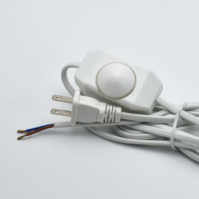 1,8 Mt 110 V Lampe Netzkabel Dimmen Schalter Draht VDE Zertifiziert ...