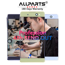 "ORIJINAL 6.0 ""TFT LCD Için SONY Xperia C6 XA Ultra LCD Ekran F3211 F3212 Dokunmatik Ekran Digitizer Yedek Parçalar"