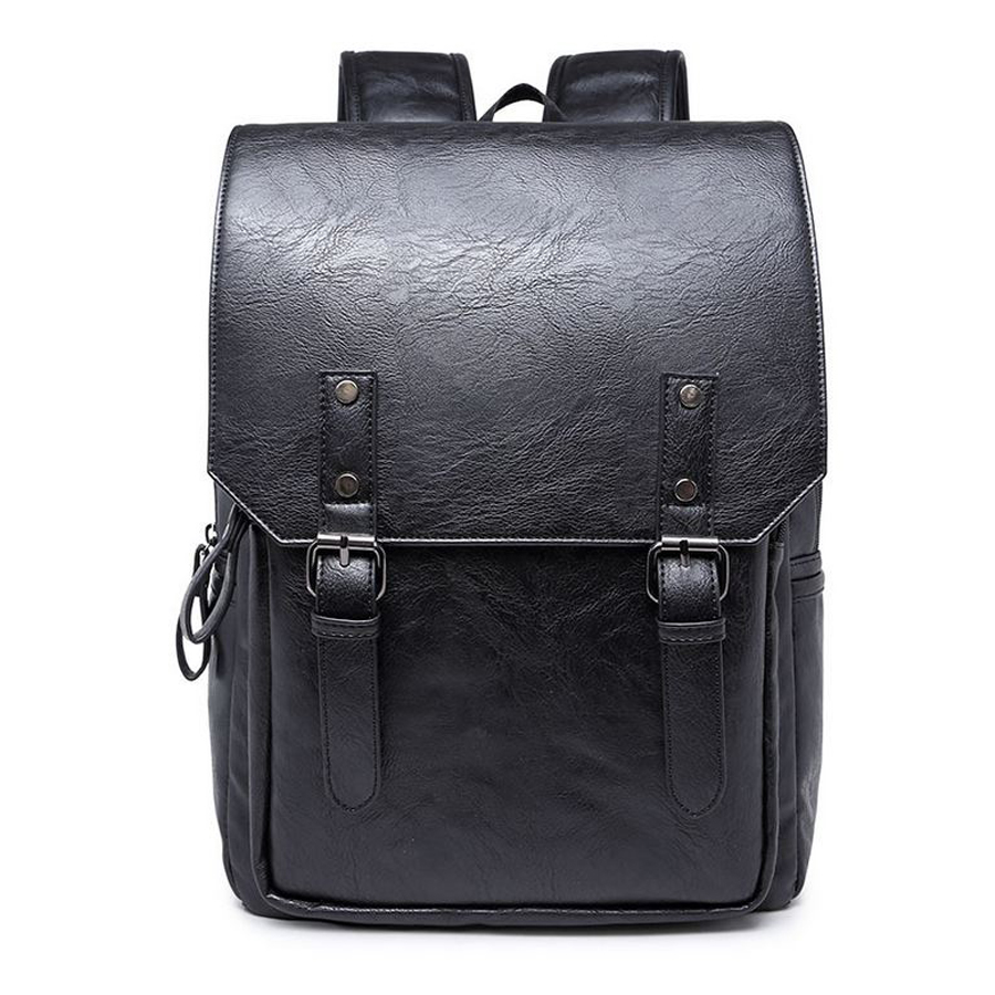 824df63a4faa 2015 Men s Backpack Black Coffee Blue Men s Rucksack Male Fashion casual  Backpack PU leather Street Style BackpacksUSD 23.79-27.99 piece New backpack  bag ...