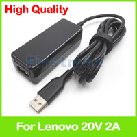 20V 2A 40W Laptop AC Power Adapter Charger ADL40WDG 36200565 ADL40WDE 36200566 For Lenovo Yoga 3