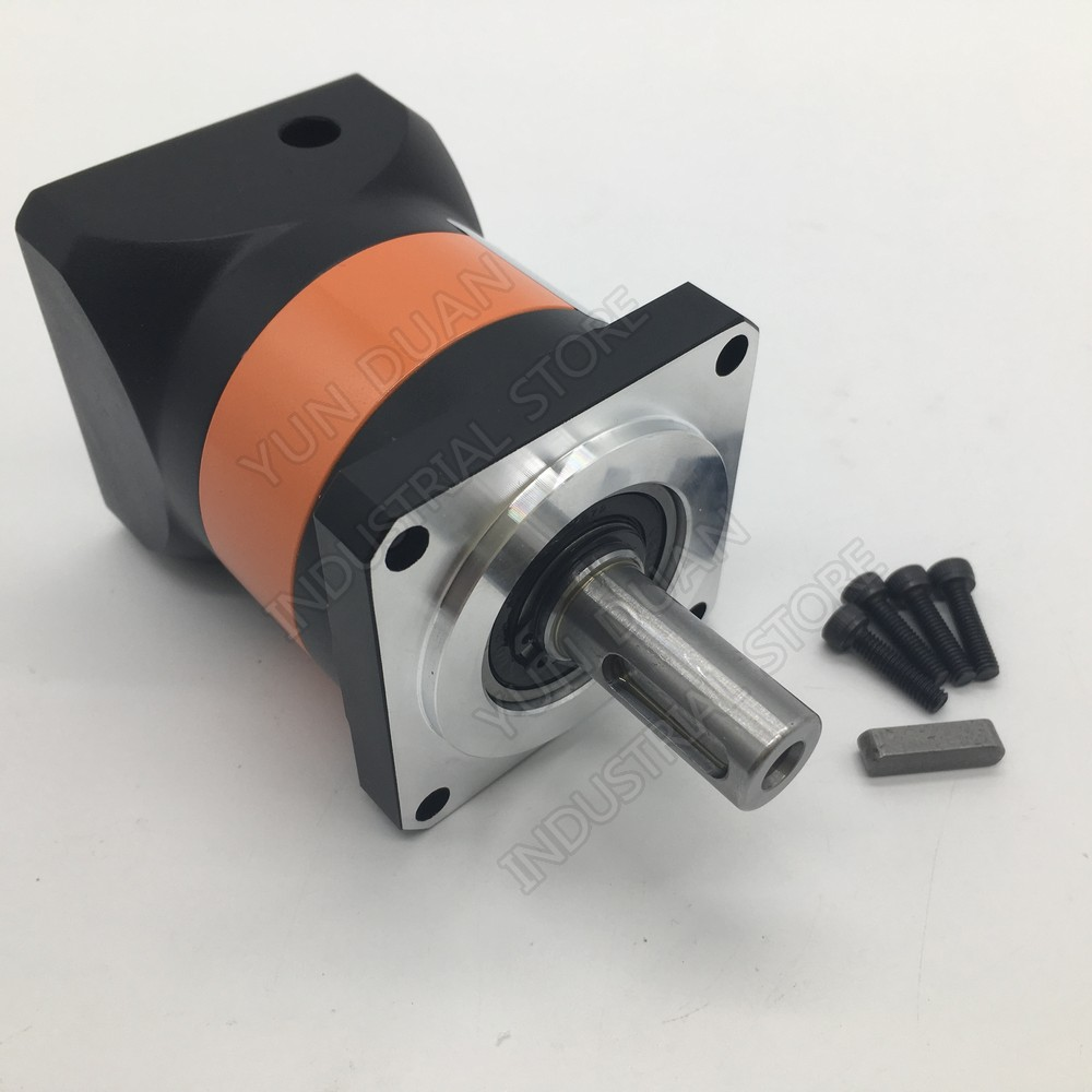 12:1 -100:1 Speed Ratio Gearbox Reducer for 750W 1 KW Servo Motor CNC 90mm Flange  Planetary Reducer 19MM 12.7MM 1/2 Input12:1 -100:1 Speed Ratio Gearbox Reducer for 750W 1 KW Servo Motor CNC 90mm Flange  Planetary Reducer 19MM 12.7MM 1/2 Input