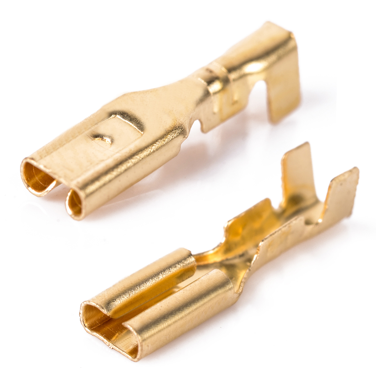 100pcs Practical 2.8mm Brass Crimp Terminal Female Spade Connectors with Plastic Insulating Sleeve сумка kate spade new york wkru2816 kate spade hanna