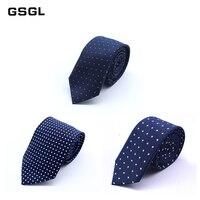 New Design Mens Tie Luxury Man Dot Printed Neckties Hombre 6cm Gravata Tie Classic Business Casual Tie For Wedding