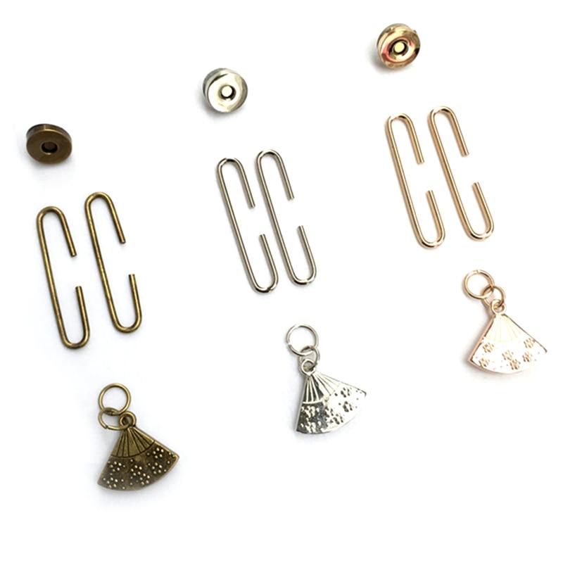 10Pcs Fan Shape Plum Blossom Metal Frame Clutch Magnetic Buckle Purse Kiss Clasp Lock Handbag Handle Part