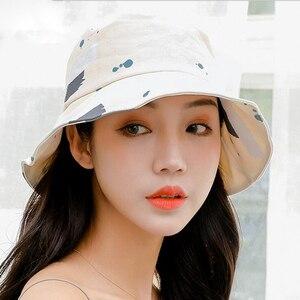 Image 5 - 2018 אביב קיץ למבוגרים דלי כובע ססגוני גרפיטי בוב כובעי היפ הופ Gorros גברים נשים קיץ כובעי חוף שמש דיג כובע
