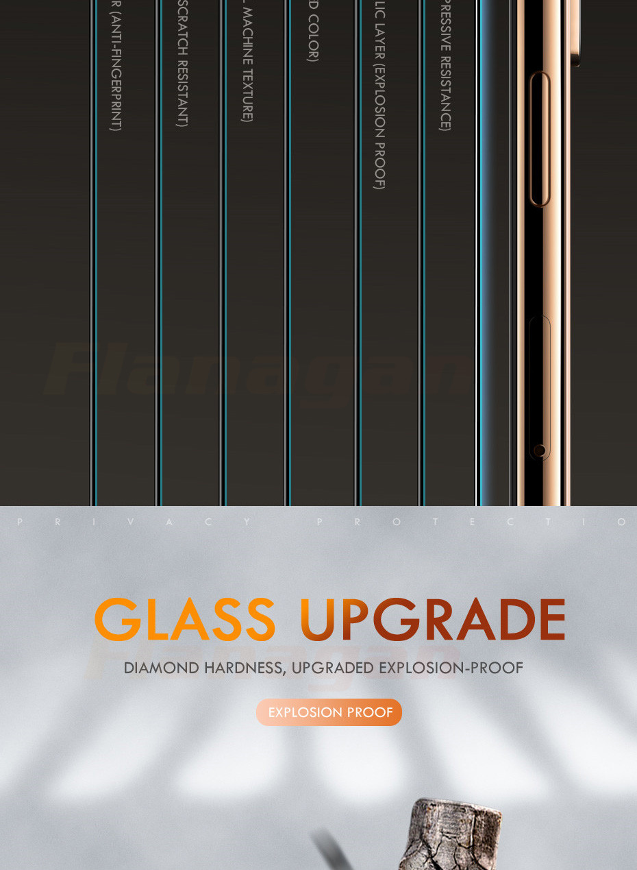 15D Protective Glass on the For iPhone 6 6s 7 8 plus XR X XS glass full cover iPhone Xs Max Screen Protector Tempered Glass 9