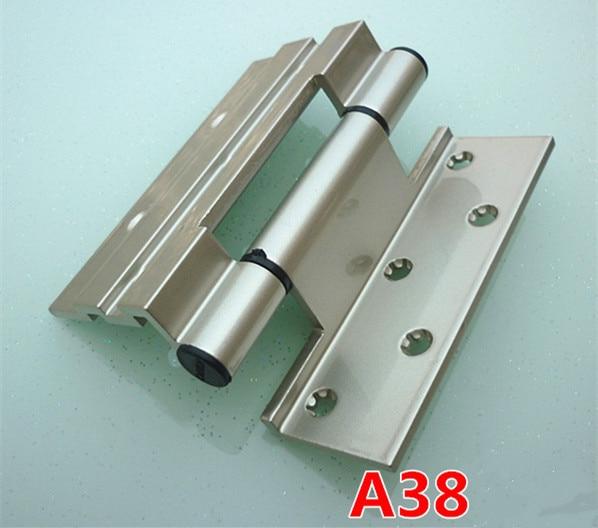 1 unidades bisagra de aleación de aluminio para puerta